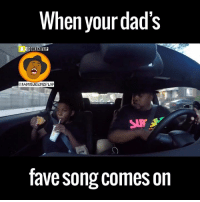 Dank, 🤖, and Ice: When your dad's  UEENZFLIP  @1AMQUEENZFLIP  favesong comes on He's at it again! This kid is cold as ice 😂😂  by Queenzflip