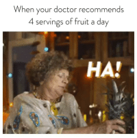 It's NationalPineappleDay so stay classy and HAVEARITA @ritas: When your doctor recommends  4 servings of fruit a day  HA! It's NationalPineappleDay so stay classy and HAVEARITA @ritas