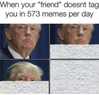 """Dank, 🤖, and Friend: When your """"friend"""" day  tag  you in your oesnt ta  573 per WALL!"""