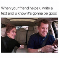 If you're dating my best friend you're also dating me- i'm the author of all her texts 🙋🏼 @mybestiesays: When your friend helps u write a  text and u know it's gonna be good If you're dating my best friend you're also dating me- i'm the author of all her texts 🙋🏼 @mybestiesays