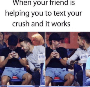 Happened to me last night😀 via /r/wholesomememes https://ift.tt/31FDAsl: When your friend is  helping you to text your  crush and it works Happened to me last night😀 via /r/wholesomememes https://ift.tt/31FDAsl