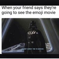 Emoji, Memes, and Movie: When your friend says they're  going to see the emoji movie  IDO NOT EXPECT YOU TO SURVIVE. 😤😤😤 nearly 60k