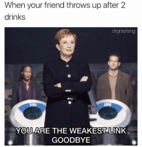 you are the weakest link