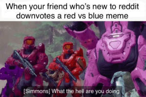 Red Vs Blue Meme