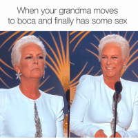 Grandma, Sex, and Girl Memes: When your grandma moves  to boca and finally has some sex You're doing great sweetie goldenglobes