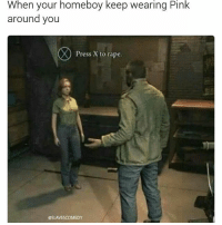 American Dad, Dad, and Memes: When your homeboy keep wearing Pink  around you  Press X to rape.  esLAVESCOMEDY American Dad is the pinnacle of modern animated comedy