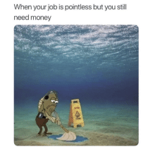 Fml, Lol, and Money: When your job is pointless but you still  need money Lol fml