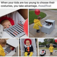 Kids, Babies, and You: When your kids are too young to choose their  costumes, you take advantage. Well, babies are scary