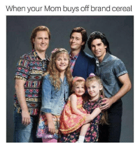 Mom, Brand, and Your Mom: When your Mom buys off brand cereal