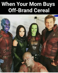 Memes, Marvel, and World: When Your Mom Buys  Off-Brand Cereal (y) Marvel Universe Rocks My World
