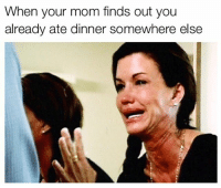 It's not that serious, calm the fuck down mom memes mommemes holidays americanmadememes dinner food foodie mayonnaise: When your mom finds out you  already ate dinner somewhere else It's not that serious, calm the fuck down mom memes mommemes holidays americanmadememes dinner food foodie mayonnaise