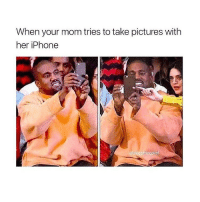 i miss the old kanye: When your mom tries to take pictures with  her iPhone  @side otrcepila i miss the old kanye