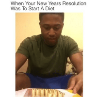 Dieting, Drake, and Funny Jokes: When Your New Years Resolution  Was To Start A Diet Me🍪 - - - (Credit @theshiggyshow) 420 lmao Relatable dank nochill lol Hilarious Comedy haha funny Jokes Whitepeople KimKardashian savage KylieJenner JustinBieber Squad Crazy Omg Smh Lmao Epic Weed hahaha hiphop rap drake instafunny weak lit