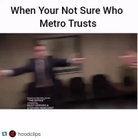 Classic: When Your Not Sure Who  Metro Trusts  THE OFFICE  erested by  RICKY GERVAIS  STEPHEN MERCHANT  t1 hoodclips Classic
