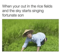 laughoutloud-club:  With Gump on the M60: When your out in the rice fields  and the sky starts singing  fortunate son laughoutloud-club:  With Gump on the M60