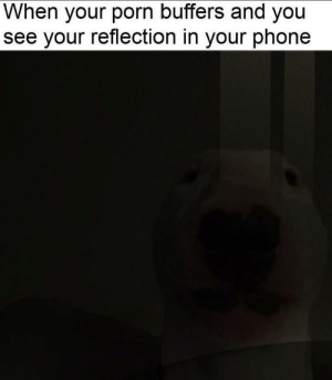 me_irl: When your porn buffers and you  see your reflection in your phone me_irl