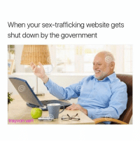 😕: When your sex-trafficking website gets  shut down by the government  tray on vert 😕