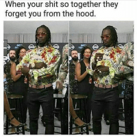Memes, Shit, and The Hood: When your shit so together they  forget you from the hood. Offset jumped off stage and falcon punched a nigga ..