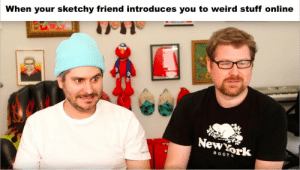 Weird, Stuff, and Dank Memes: When your sketchy friend introduces you to weird stuff online  NewYork  ROOTS Justin Roiland everyone