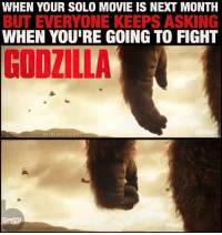 GodzillavsKingKong 2020 🙌🏾🙌🏾🙌🏾 -- So those new KingKong teasers dropped by @legendary, boooy... Kong breaking rocks over SkullCrawler's skulls nostalgia'd me back to PeterJackson's Kong vs T-Rex scene and I'm totally digging it. That four way Dino battle in Jackson's Kong was the epitome of epic to me - I just hope KongSkullisland manages to surpass it. Godzilla needs a dope adversary after those generic MUTO things. -- I dunno, man... Something about intelligent Gorillas kicking ass just does it for me. This. PlanetoftheApes... when is that Rampage movie coming out? 😂 And GorillaGrodd next week on TheFlash! Woo!! Lol -EndRant: WHEN YOUR SOLO MOVIE IS NEXT MONTH  BUT EVERYONE KEEPS ASKING  WHEN YOURE GOING TO FIGHT  IG BLERD, VISION GodzillavsKingKong 2020 🙌🏾🙌🏾🙌🏾 -- So those new KingKong teasers dropped by @legendary, boooy... Kong breaking rocks over SkullCrawler's skulls nostalgia'd me back to PeterJackson's Kong vs T-Rex scene and I'm totally digging it. That four way Dino battle in Jackson's Kong was the epitome of epic to me - I just hope KongSkullisland manages to surpass it. Godzilla needs a dope adversary after those generic MUTO things. -- I dunno, man... Something about intelligent Gorillas kicking ass just does it for me. This. PlanetoftheApes... when is that Rampage movie coming out? 😂 And GorillaGrodd next week on TheFlash! Woo!! Lol -EndRant
