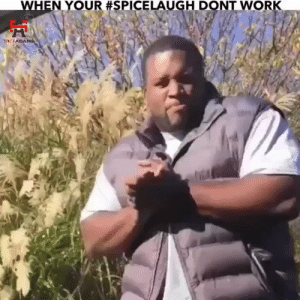 62% of the time, it works every time!! https://t.co/0eynXqDjnb: WHEN YOUR #SPICELAUGH DONT WORK  SPICFADAMS 62% of the time, it works every time!! https://t.co/0eynXqDjnb