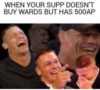 real supports  = LeagueMemes =  Wingolos www.youtube.com/c/wingolos www.twitch.tv/wingolos: WHEN YOUR SUPP DOESN'T  BUY WARDS BUT HAS 500AP real supports  = LeagueMemes =  Wingolos www.youtube.com/c/wingolos www.twitch.tv/wingolos
