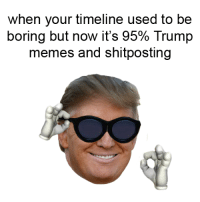Meme, Memes, and Social Media: when your timeline used to be  boring but now it's 95% Trump  memes and shitposting The meme war saved social media.