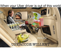 Memes, Uber Driver, and Bristol: When your Uber driver is out of this world  ka  PATCH  will ent  TUBERCODE WILLENT 😂😂😂🚕🚕🚙🚙👇link @will_ent.tv Save yourself a £15 journey by signing up to uber using the code *WILLENT* 👈 GET HOME FOR FREE ON ME! 😎 READINFO 👇 1. DOWNLOAD THE UBER APP FROM THE STORE 2. CREATE AN ACCOUNT WITH UBER 3. ENTER PROMO CODE *WILLENT* 4. ENJOY YOUR £15 FREE UBER RIDE! PROVIDING A WORLDWIDE SERVICE 🌍🌍 🚕🚕🚕🚕🚕🚕🚕🚕🚕🚕🚕🚕 PROMOCODE: *WILLENT* (CLICK THE LINK IN THE BIO TO GET STARTED) - ➡️MAKE SURE YOU USE YOUR CODE BEFORE EXPIRATION DATE ⬅️😎 - UK London Birmingham Liverpool Carnival Leeds Southampton Portsmouth Uber Belfast Bristol Dublin Nottinghill NottinghillCarnival Leicester Nottingham Manchester Merseyside Newcastle Cab FreeRide Weekend UK 2016 Summer UberCodes UberEverywhere