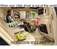 Memes, Uber Driver, and Bristol: When your Uber driver is out of this world  @Wil em  oka  PATCH  will ent  UBER,CODE WILLENT 😂😂😂🚕🚕🚙🚙👇 Save yourself a £15 journey by signing up to uber using the code *WILLENT* 👈bio link @will_ent.tv - GET HOME FOR FREE ON ME! 😎 READINFO 👇 1. DOWNLOAD THE UBER APP FROM THE STORE 2. CREATE AN ACCOUNT WITH UBER 3. ENTER PROMO CODE *WILLENT* 4. ENJOY YOUR £15 FREE UBER RIDE! PROVIDING A WORLDWIDE SERVICE 🌍🌍 🚕🚕🚕🚕🚕🚕🚕🚕🚕🚕🚕🚕 PROMOCODE: *WILLENT* (CLICK THE LINK IN THE BIO TO GET STARTED) - ➡️MAKE SURE YOU USE YOUR CODE BEFORE EXPIRATION DATE ⬅️😎 - UK London Birmingham Liverpool Carnival Leeds Southampton Portsmouth Uber Belfast Bristol Dublin Nottinghill NottinghillCarnival Leicester Nottingham Manchester Merseyside Newcastle Cab FreeRide Weekend UK 2016 Summer UberCodes UberEverywhere
