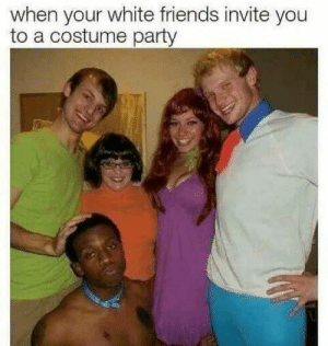 Racist jokes | Funny Jokes & Pictures | Jokideo: when your white friends invite you  to a costume party Racist jokes | Funny Jokes & Pictures | Jokideo