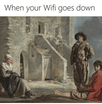Wifi, Down, and When: When your Wifi goes down