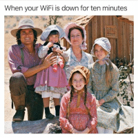 Funny, Lol, and Wifi: When your WiFi is down for ten minutes I sadly don't think I'd know what to do with myself lol (@adam.the.creator)