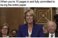 "Memes, Http, and Pages: When you're 10 pages in and fully committed to  bs-ing the entire paper. <p>We Don't Need No Education via /r/memes <a href=""http://ift.tt/2iDxypH"">http://ift.tt/2iDxypH</a></p>"