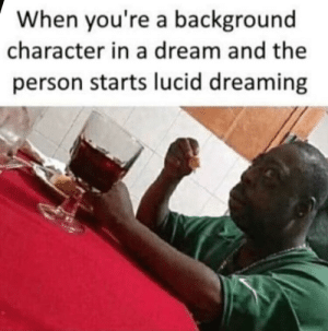 WHATS IT LIKE TO LUCID DREAM? | Lucid Dreaming Meme on ME ME
