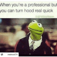 Haha nyc🗽 Repost @melroot74 with @repostapp ・・・ 0 to 100 real quick: When you're a professional but  you can turn hood real quick  melroot74 Haha nyc🗽 Repost @melroot74 with @repostapp ・・・ 0 to 100 real quick