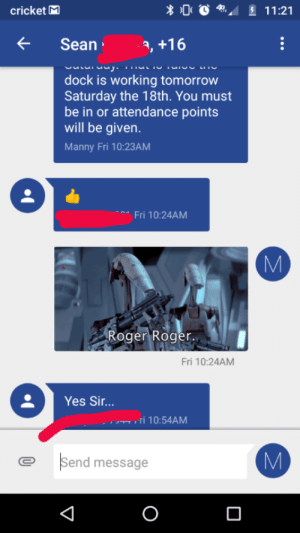 When you're an essential worker and you drop a prequel meme in the group chat your boss sent out: When you're an essential worker and you drop a prequel meme in the group chat your boss sent out