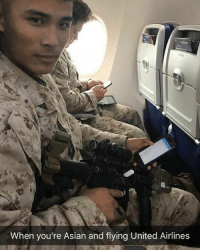 Asian, Memes, and Lost: When you're Asian and flying United Airlines WHOSE BOOT: lost luggage edition. Pro-tip kid, you're flying @southwest. They only kick you off if you're toohot. You're not. itsajoke likeyourdick butnotreally buttfuckit deportcorpsman