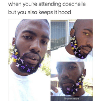 🌺🌸 @pablopiqasso 🌸🌺: when you're attending coachella  but you also keeps it hood  Brother nature 🌺🌸 @pablopiqasso 🌸🌺