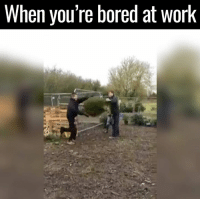 Why is this so funny? Tag someone who'd do it 😂👏: When you're bored at Work Why is this so funny? Tag someone who'd do it 😂👏