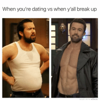 Mac got his groove back 😍👌💯 tag someone that looks like the before pic: When you're dating vs when all break up  MADE WITH MOMUS Mac got his groove back 😍👌💯 tag someone that looks like the before pic