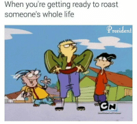 Life, Roast, and Dank Memes: When you're getting ready to roast  someone's whole life  TObident  GN