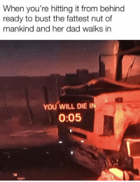 "Dad, Meme, and Her: When you're hitting it from behind  ready to bust the fattest nut of  mankind and her dad walks in  YOU WILL DIE I  0:05 <p>An actual possible new format that's not a variant of a dead meme! INVEST! via /r/MemeEconomy <a href=""https://ift.tt/2xfNczs"">https://ift.tt/2xfNczs</a></p>"