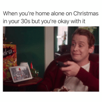Being Alone, Animals, and Christmas: When you're home alone on Christmas  in your 30s but you're okay with it Merry Christmas ya filthy animals😏