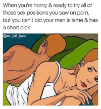 sex with short dick