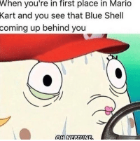 """<p>*Warning Sound Starts Playing* via /r/memes <a href=""""http://ift.tt/2qKZrMX"""">http://ift.tt/2qKZrMX</a></p>: When you're in first place in Mario  Kart and you see that Blue Shell  up behind you  coming <p>*Warning Sound Starts Playing* via /r/memes <a href=""""http://ift.tt/2qKZrMX"""">http://ift.tt/2qKZrMX</a></p>"""