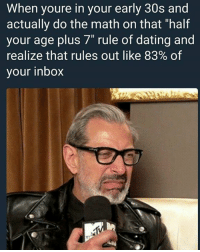 Dating someone half your age plus 7