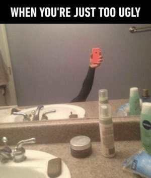 98 Mindless Memes To Help You Relax: WHEN YOU'RE JUST TOO UGLY 98 Mindless Memes To Help You Relax