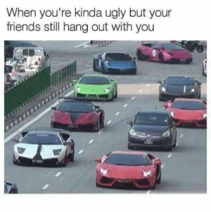 22 Really Funny Memes so True 4: When you're kinda ugly but your  friends still hang out with you 22 Really Funny Memes so True 4