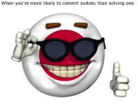 commit sudoku: When you're more likely to commit sudoku than solving one
