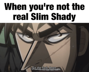 The Real Slim Shady | the Real Slim Shady Meme on ME ME